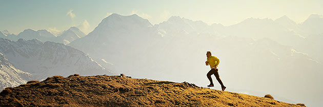 skyrunning in the alps